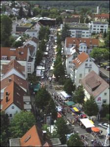 Flohmarkt in der Innenstadt
